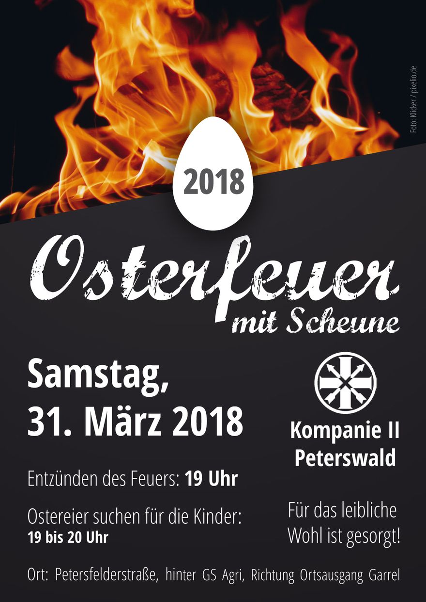 2018 Osterfeuer